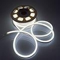 LED Neon csík (flexibilis) 24V - 8W - hideg fehér - 10 méter