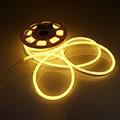 LED Neon csík (flexibilis) 24V - 8W - meleg fehér - 10 méter