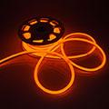 LED Neon csík (flexibilis) 24V - 8W - sárga - 10 méter