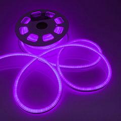 LED Neon csík (flexibilis) 24V - 8W - lila - 10 méter