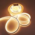 LED Neon csík (flexibilis) 24V - 13W - meleg fehér - 10 méter