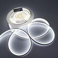 LED Neon csík (flexibilis) 24V - 13W - hideg fehér - 10 méter