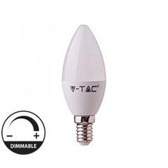 LED lámpa E14 távirányítóval (3.5W/200°) Gyertya - RGB+hideg fehér