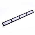 LED csarnokvilágító, lineáris, függeszthető (200W/100°) hideg fehér - fekete