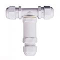 Led reflektorhoz kötődoboz (T alakú) vízmentes fehér IP68