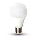 E27 LED lámpa (11W/200°) Körte A60 - hideg fehér