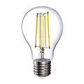 E27 LED izzó Retro filament (12.5W/330°) Körte - hideg fehér