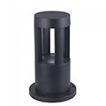 Kerti LED állólámpa, fekete (10W/450Lumen) 25 cm, hideg fehér