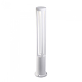 Kerti LED állólámpa, fehér (10W/450Lumen) 80 cm, hideg fehér