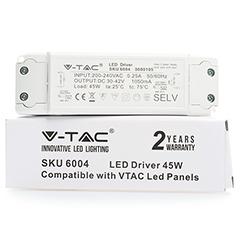 Tápegység a 45 Wattos LED panelekhez (V-Tac)