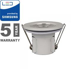 Tűzbiztos LED spot lámpa (5W/500lm) Samsung, hideg fehér
