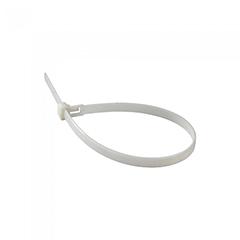 Vezeték rögzítő, kábel kötegelő (2.5x150 mm - 100 darab) fehér