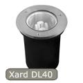 Xard DL-40 talajba építhető lámpa, E27/40W