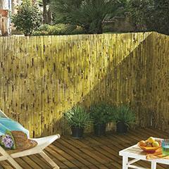 Belátásgátló 95%, rúd bambusznád kerítés YANGTSE (1x3 méter)