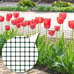 Műanyag kerítésháló, 17x17 mm szemméret (1.2 x 50 méter) zöld