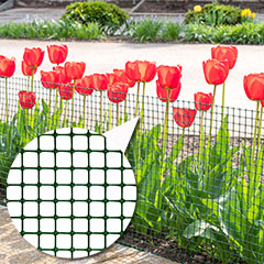 Műanyag kerítésháló, 17x17 mm szemméret (0.6 x 50 méter) zöld