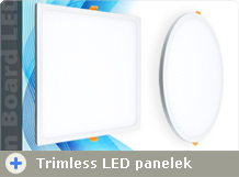 LED panel - új design!