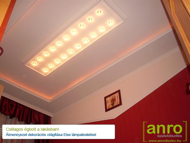 Álmennyezet dekorációs világítás - Else fénypont