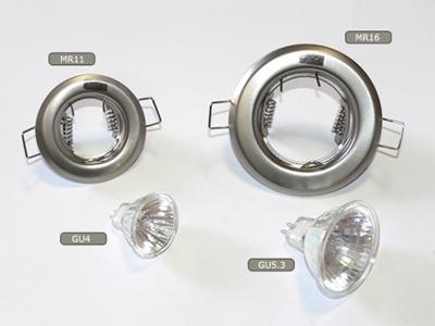 Egy kép a G4-es MR11-es és a GU5.3-as MR16-os lámpákról és foglalatokról