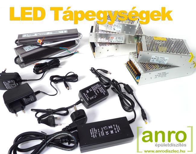 LED trafó 12V LED szalaghoz
