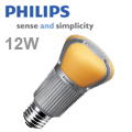 Philips E27 LED lámpa 12 Wattos Lumileds LED-el, zárt búrás!