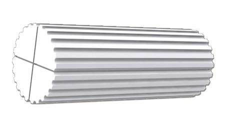 Bordás tömör oszlop 10-19 cm átmérő