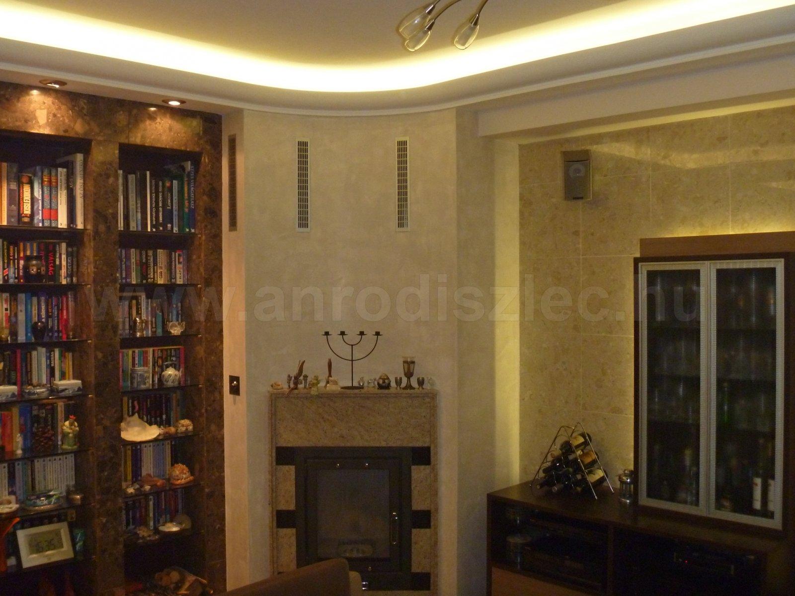 Nappali rejtett világítás - Vásárlóink fotói - Díszléc és LED ...