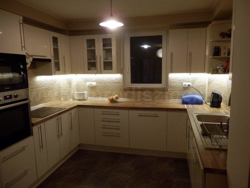 konyha pult világítás - Vásárlóink fotói - Díszléc és LED lámpa ...