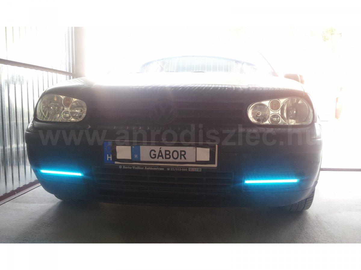 Színváltós autó LED szalag