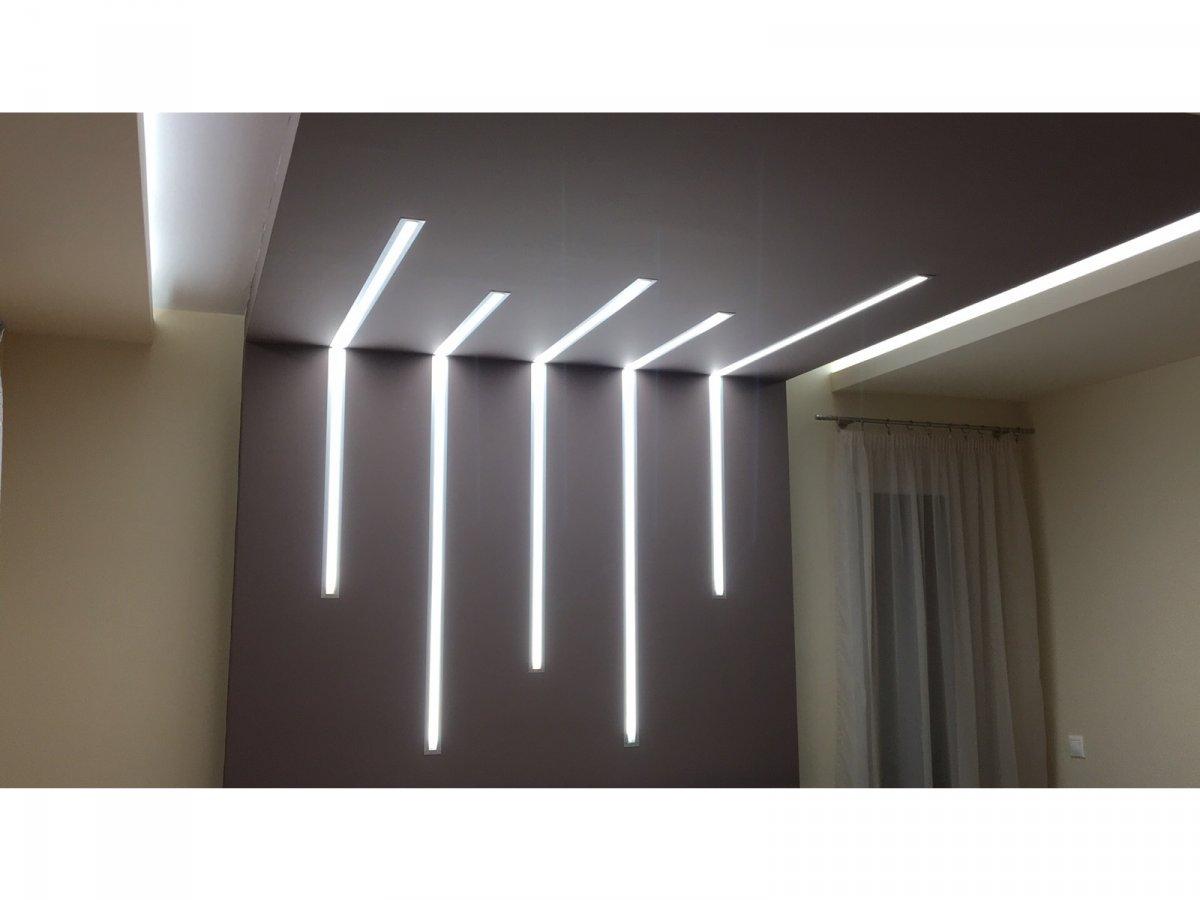 Gipszkartonba süllyeszthető led lámpa